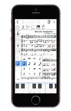 scorio Music Notator iPhone Version